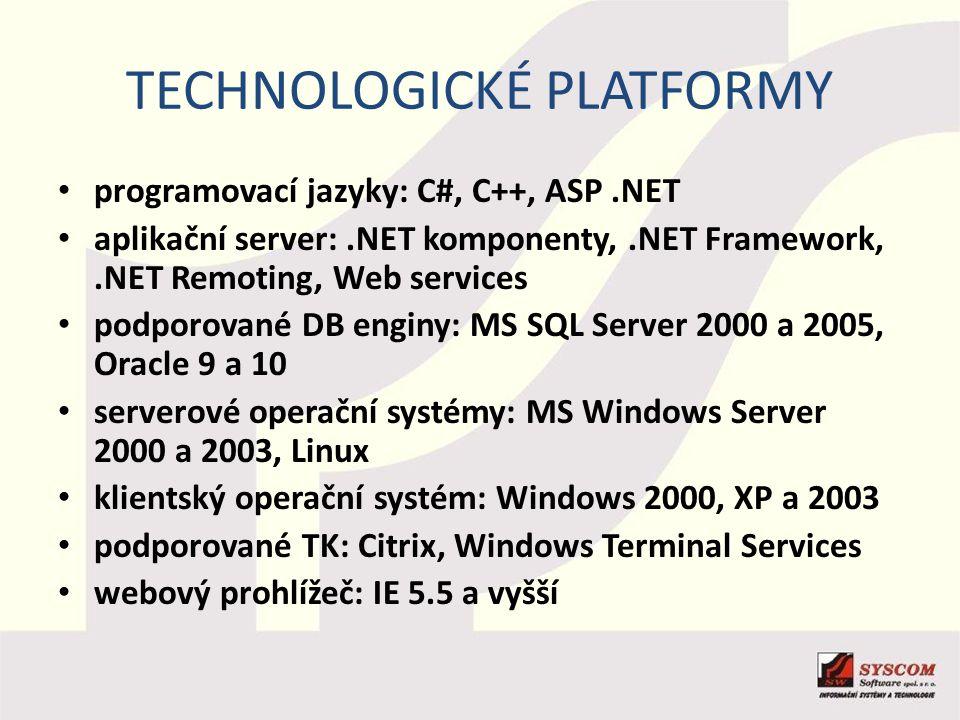 Technologické platformy
