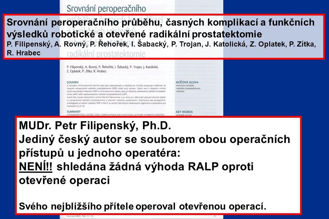 MUDr. Petr Filipenský, Ph.D.