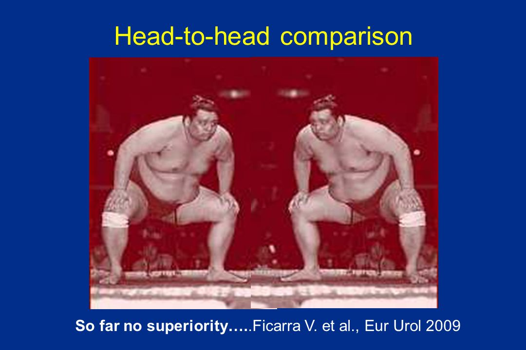Head-to-head comparison