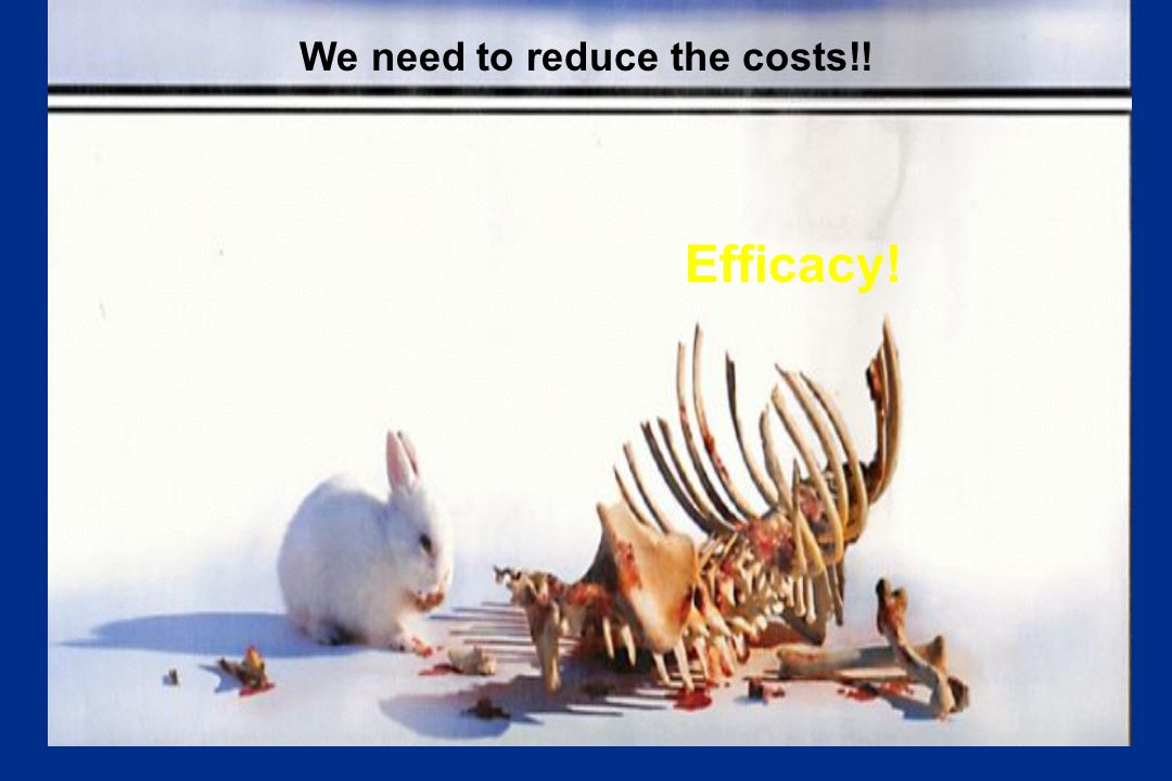 We need to reduce the costs!!