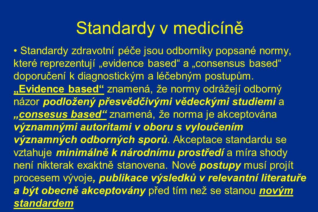 Standardy v medicíně
