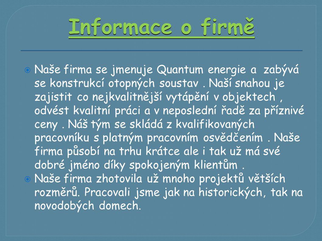 Informace o firmě