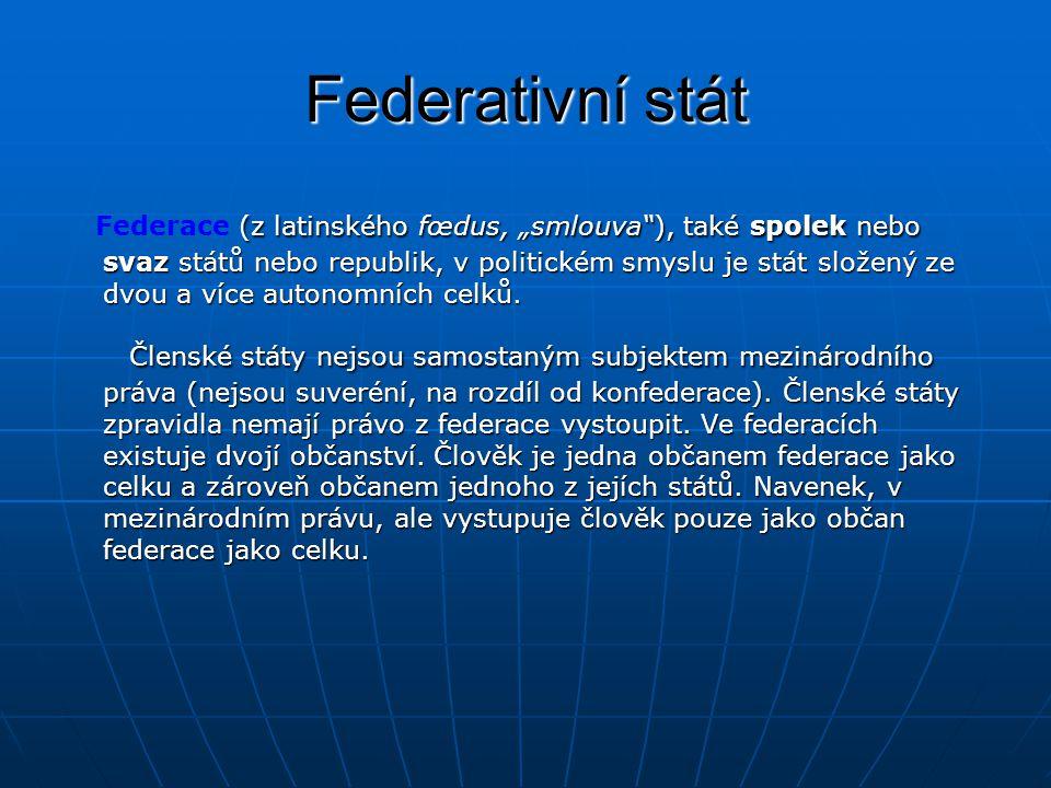 Federativní stát