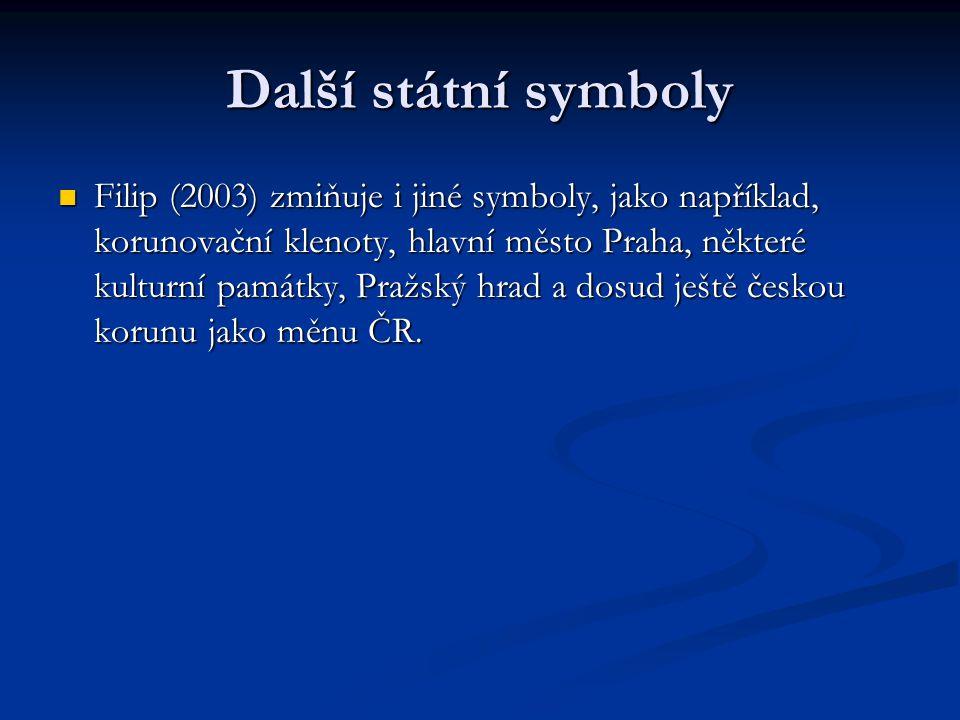 Další státní symboly