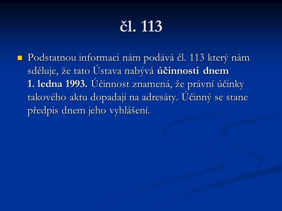 čl. 113