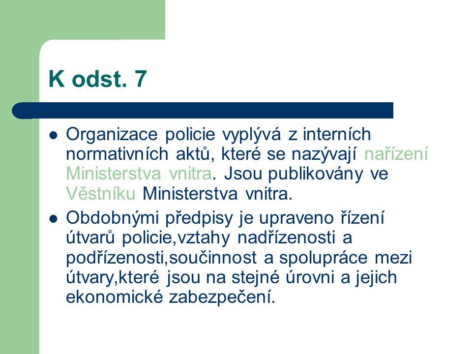 K odst. 7