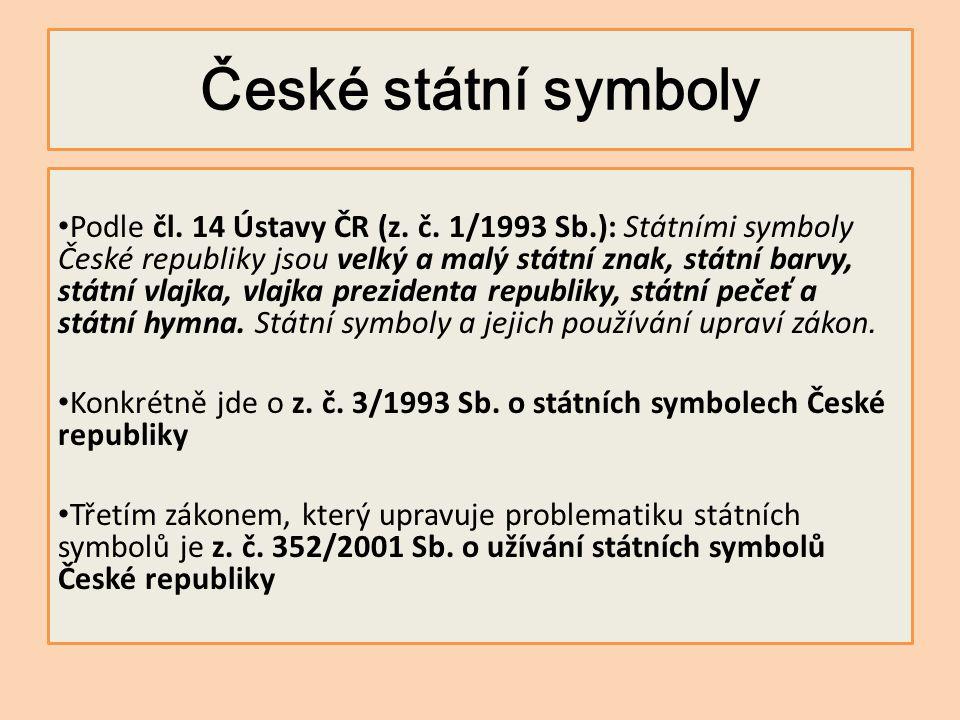 České státní symboly