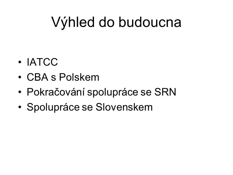 Výhled do budoucna IATCC CBA s Polskem Pokračování spolupráce se SRN