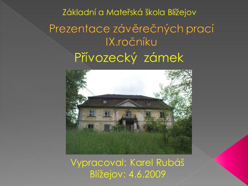 Prezentace závěrečných prací IX.ročníku