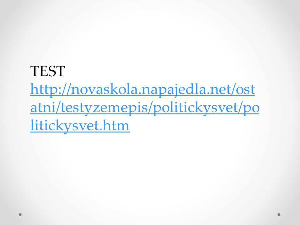 TEST http://novaskola. napajedla