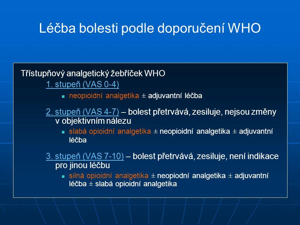 Léčba bolesti podle doporučení WHO