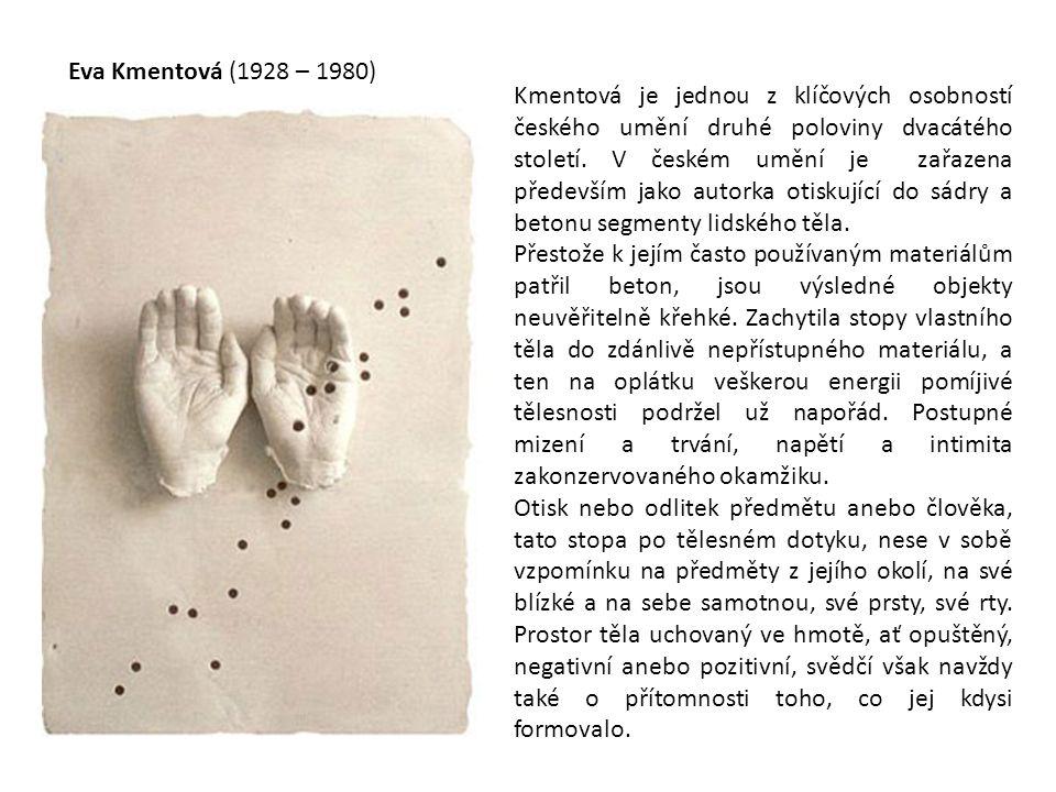 Eva Kmentová (1928 – 1980)