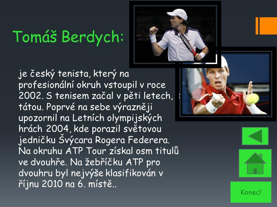 Tomáš Berdych: