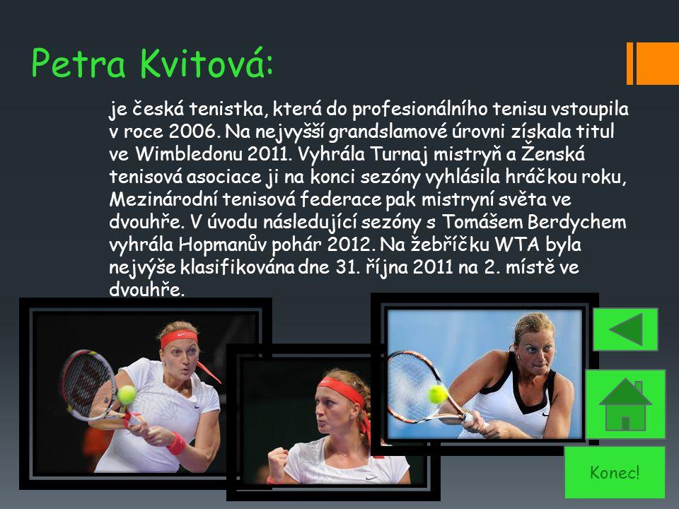 Petra Kvitová:
