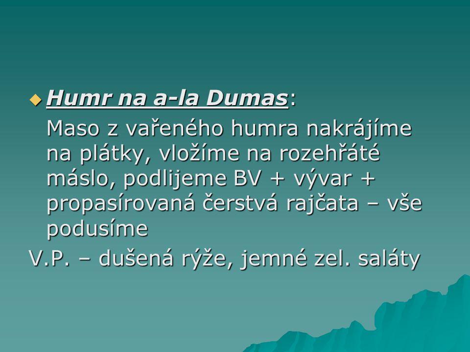Humr na a-la Dumas: