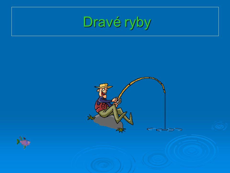 Dravé ryby