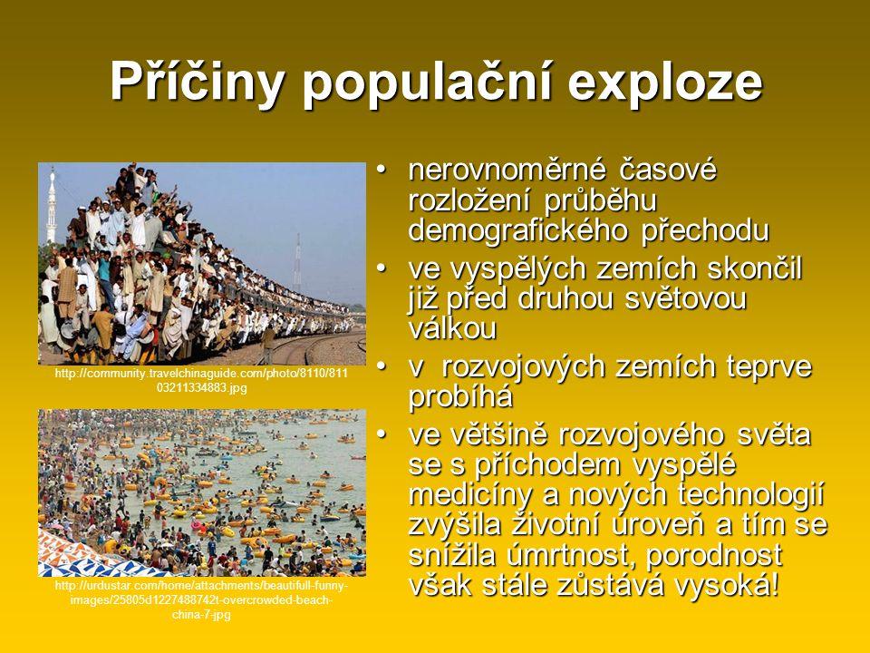 Příčiny populační exploze