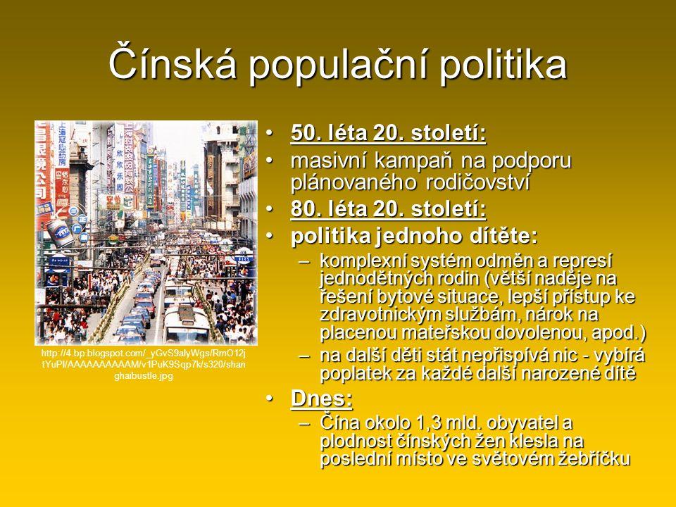 Čínská populační politika