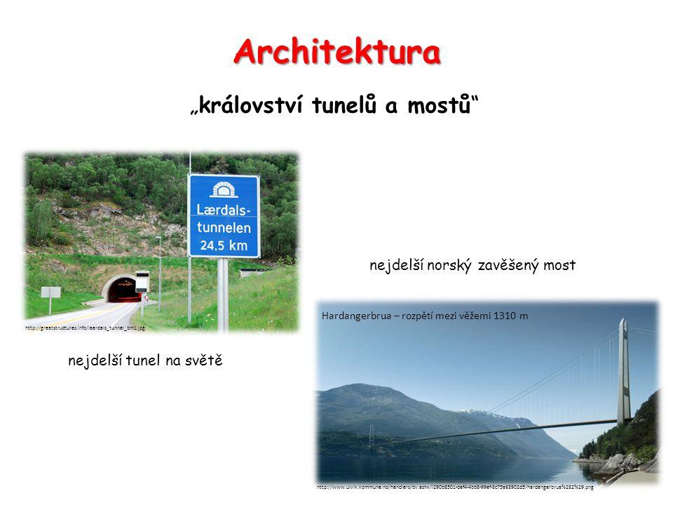 """Architektura """"království tunelů a mostů nejdelší norský zavěšený most"""