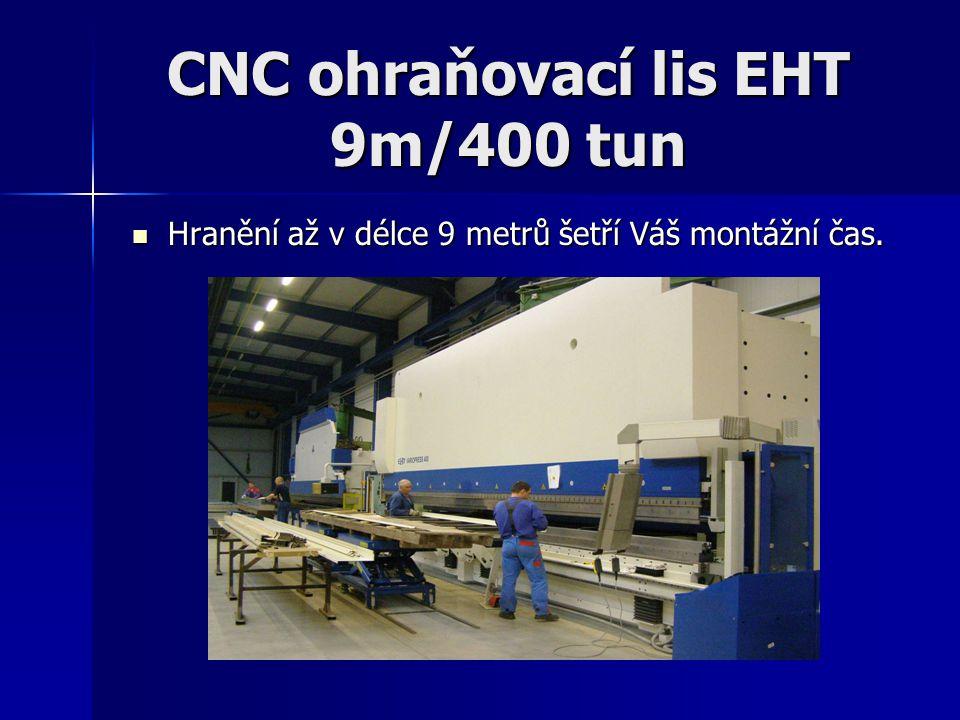 CNC ohraňovací lis EHT 9m/400 tun