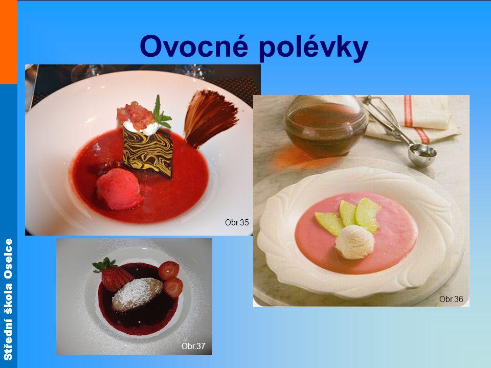 Ovocné polévky Obr.35 Obr.36 Obr.37