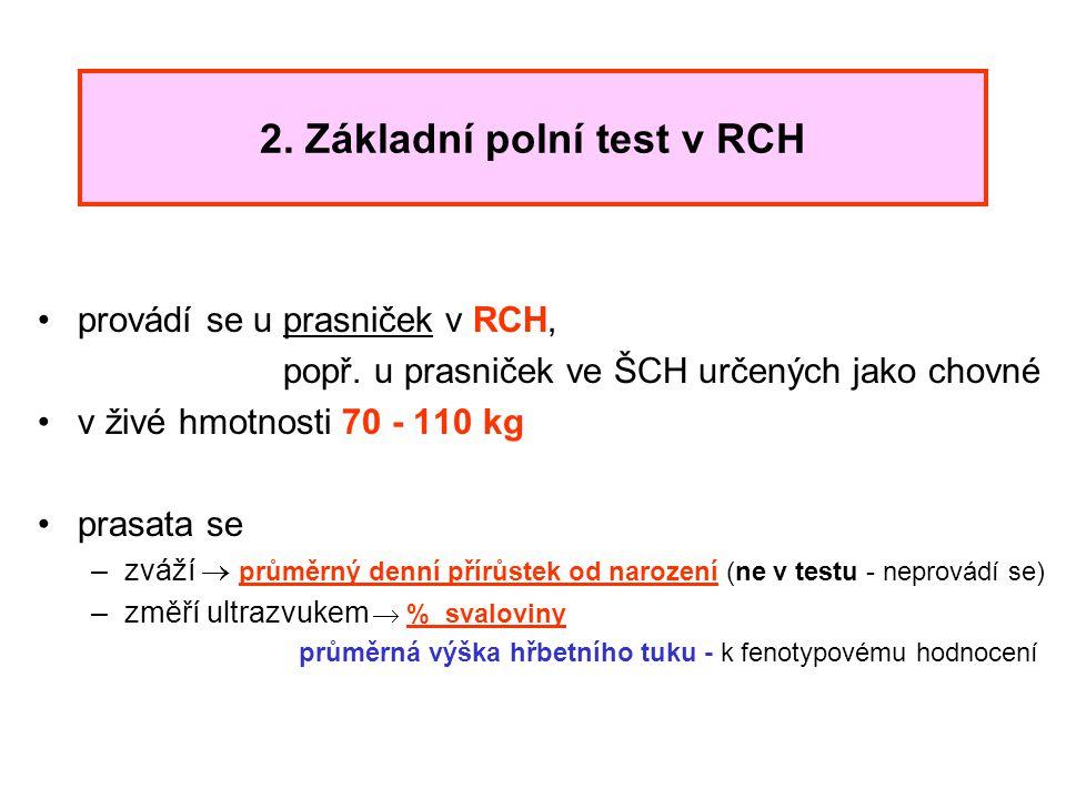 2. Základní polní test v RCH