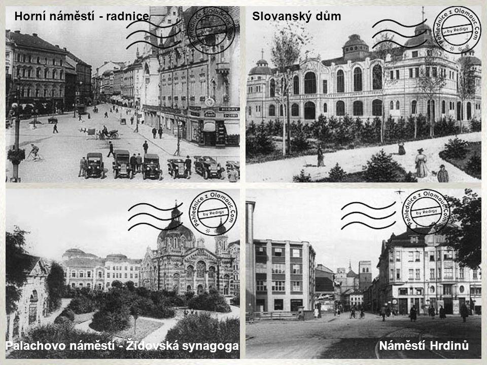 Horní náměstí - radnice