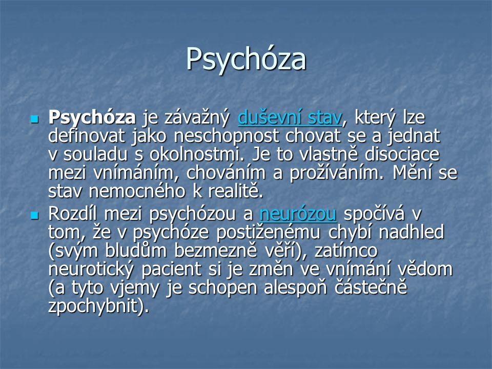 Psychóza