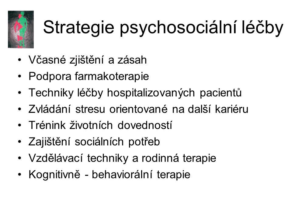 Strategie psychosociální léčby