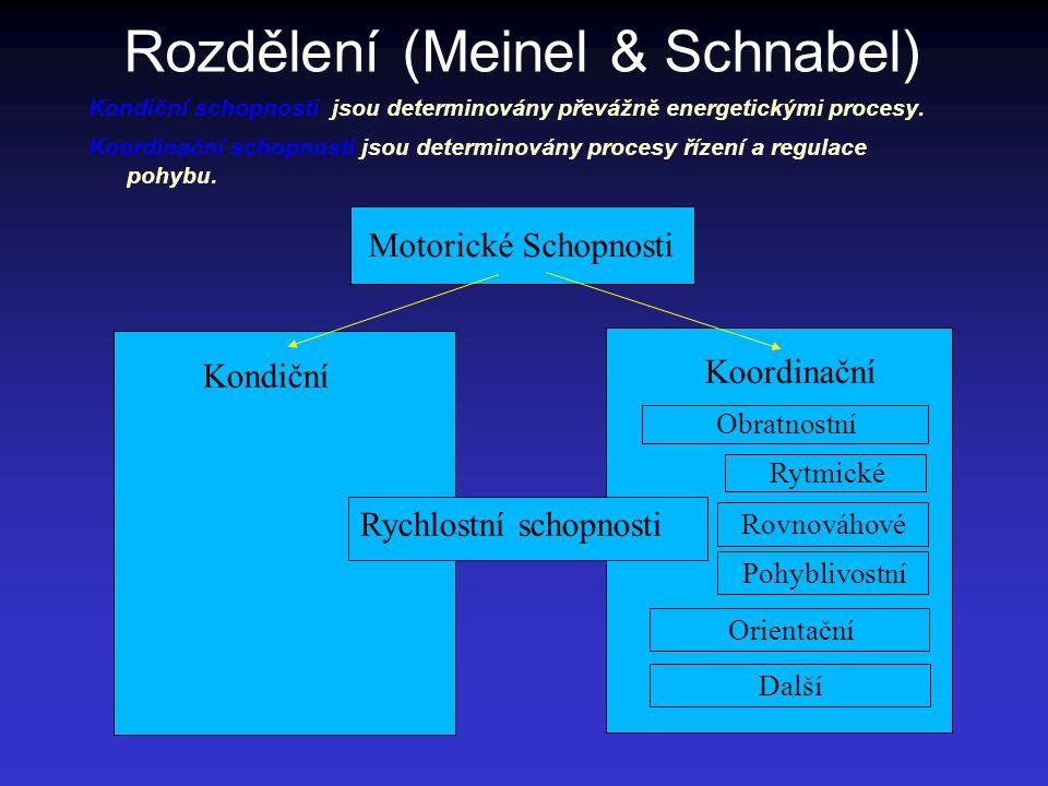 Rozdělení (Meinel & Schnabel)