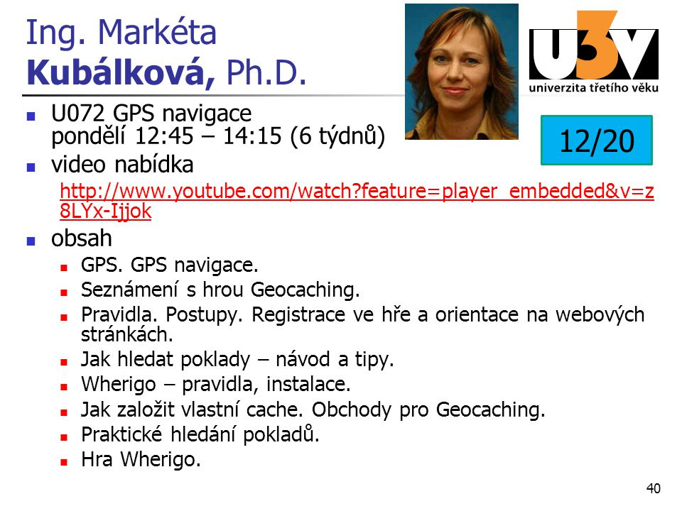 Ing. Markéta Kubálková, Ph.D.