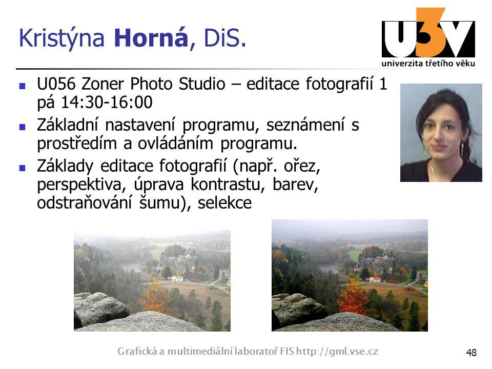 Grafická a multimediální laboratoř FIS http://gml.vse.cz