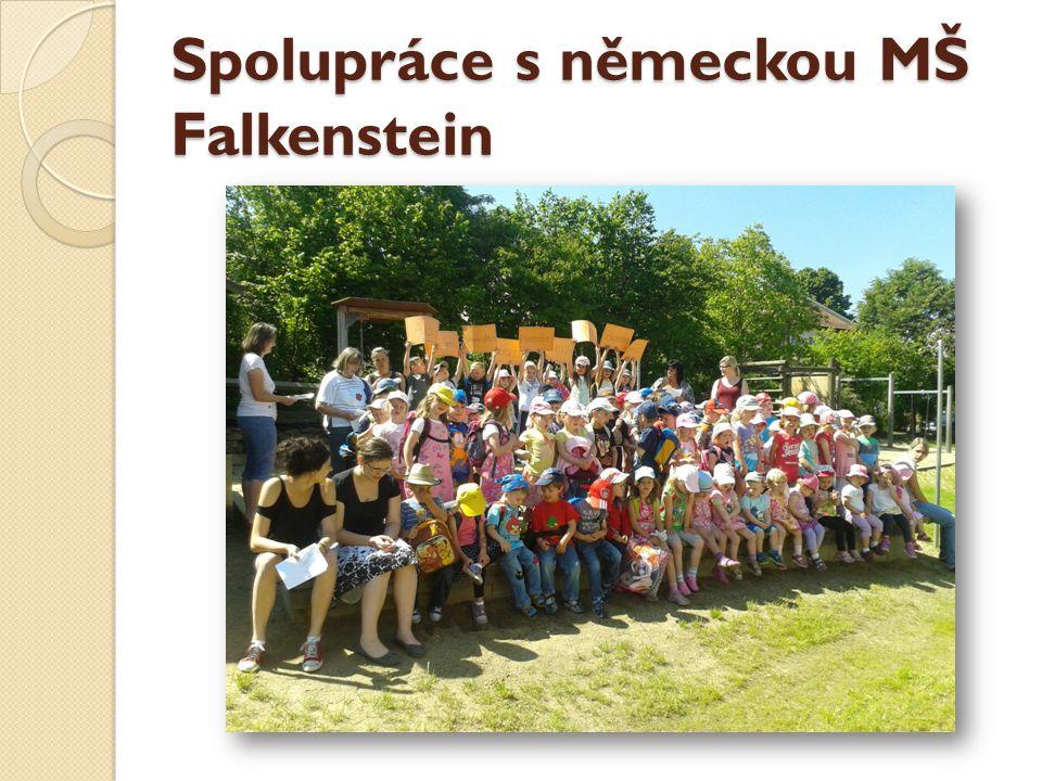 Spolupráce s německou MŠ Falkenstein