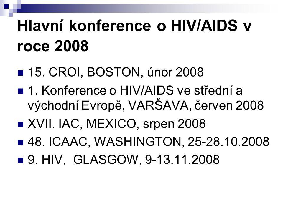 Hlavní konference o HIV/AIDS v roce 2008