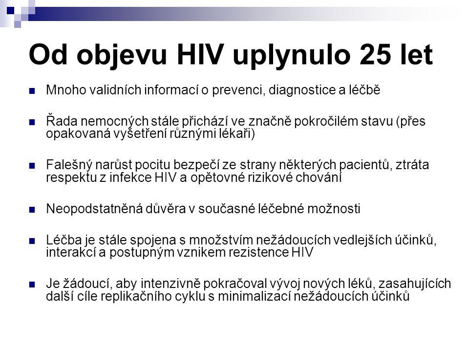 Od objevu HIV uplynulo 25 let