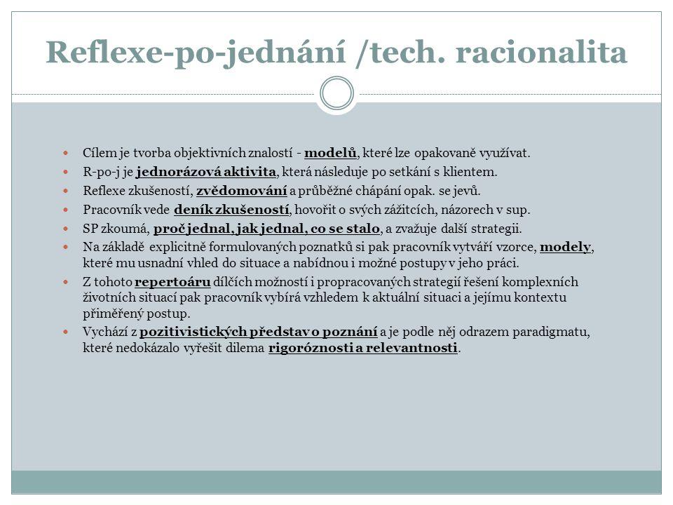 Reflexe-po-jednání /tech. racionalita