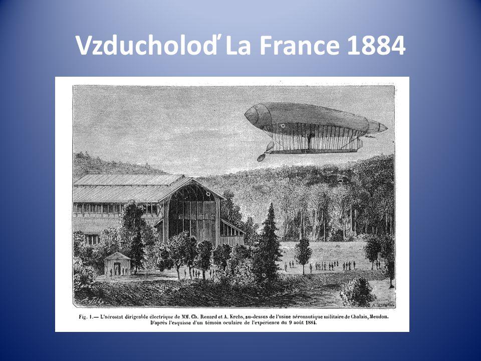 Vzducholoď La France 1884
