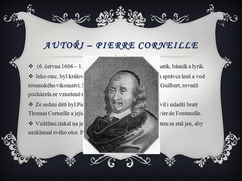 Autoři – Pierre Corneille