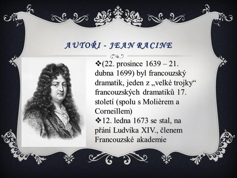 Autoři - Jean Racine