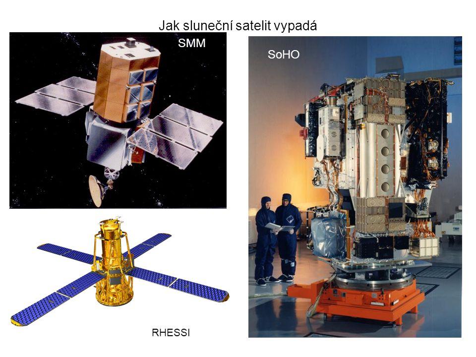 Jak sluneční satelit vypadá