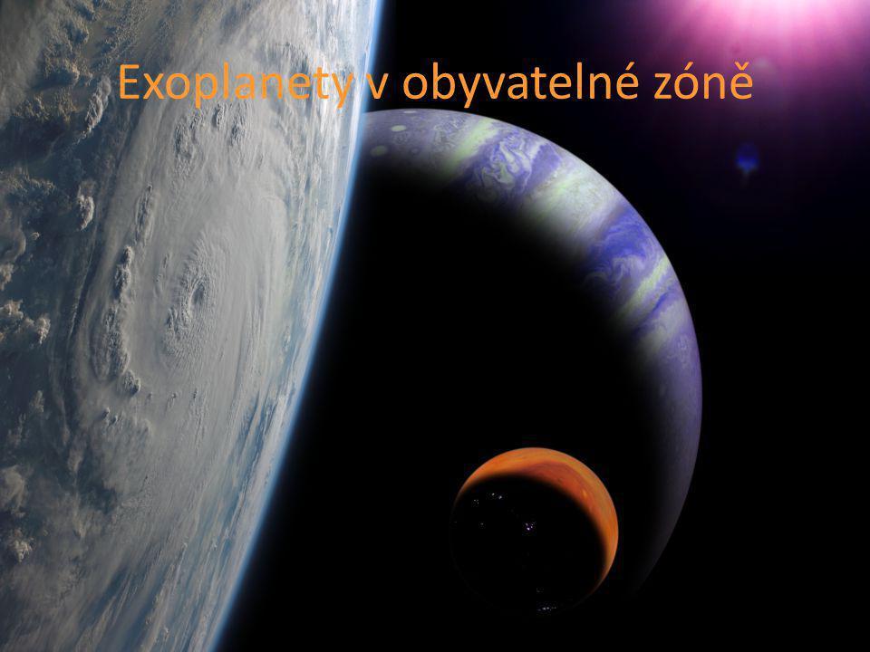 Exoplanety v obyvatelné zóně