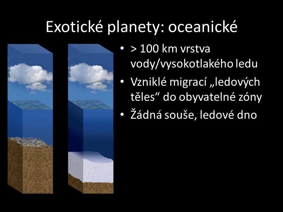 Exotické planety: oceanické