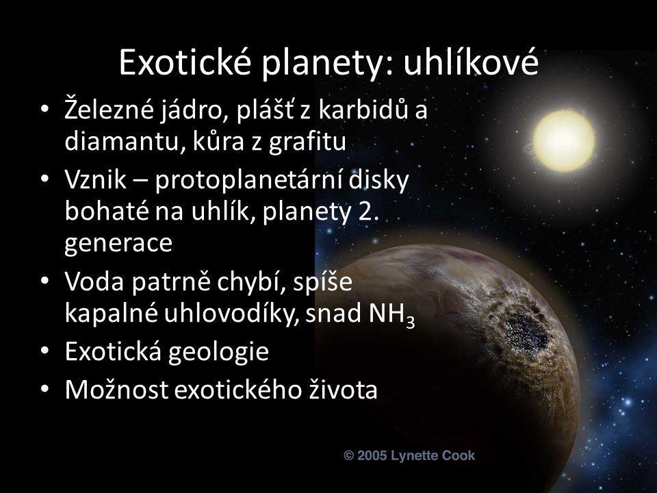 Exotické planety: uhlíkové