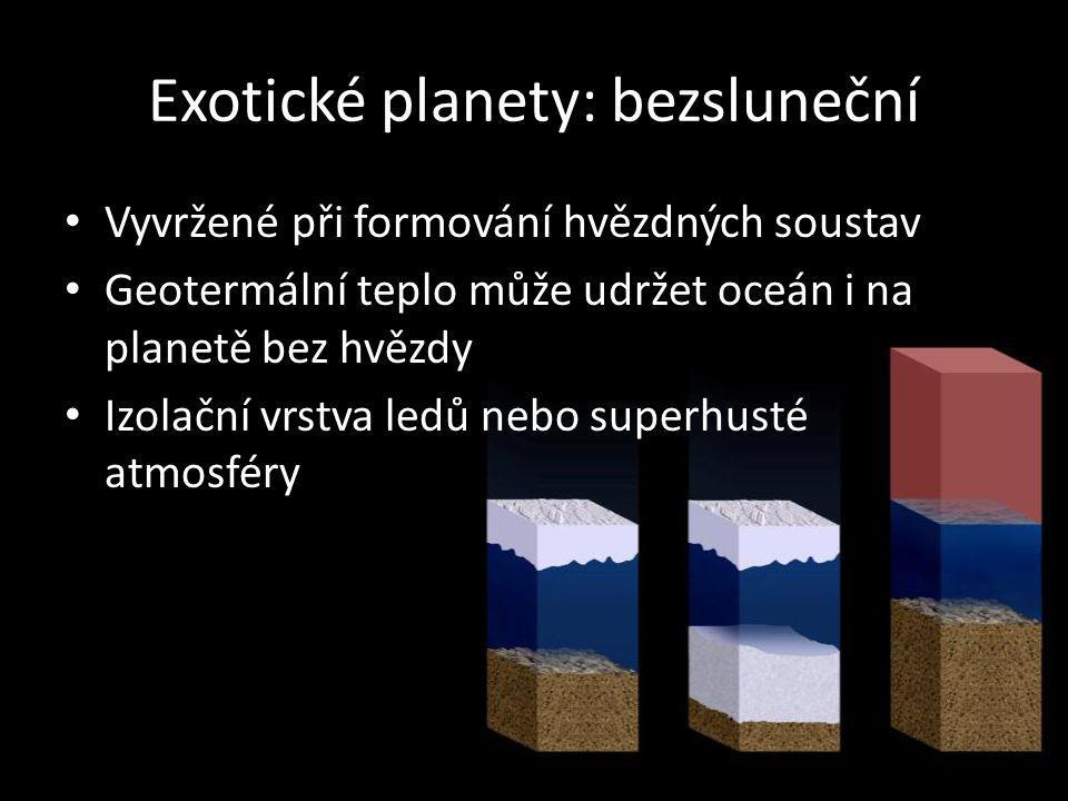 Exotické planety: bezsluneční