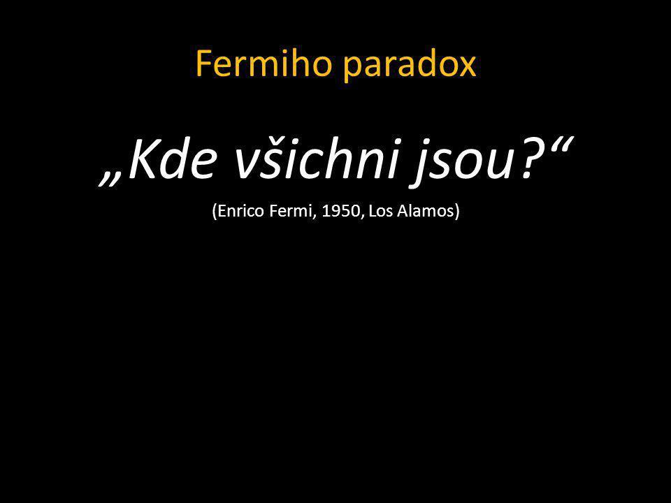 (Enrico Fermi, 1950, Los Alamos)