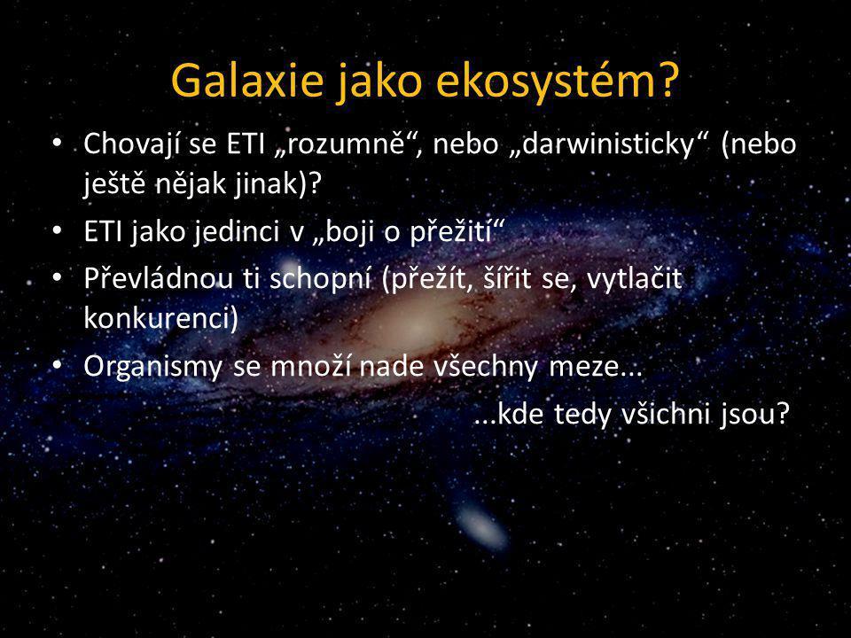 Galaxie jako ekosystém