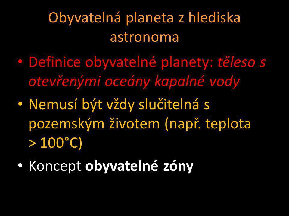 Obyvatelná planeta z hlediska astronoma
