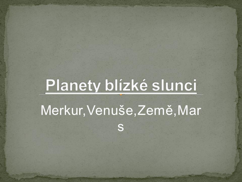 Merkur,Venuše,Země,Mar s