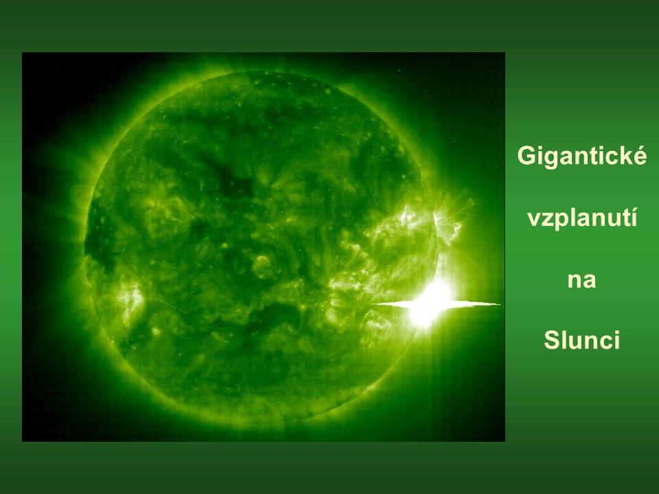 Gigantické vzplanutí na Slunci