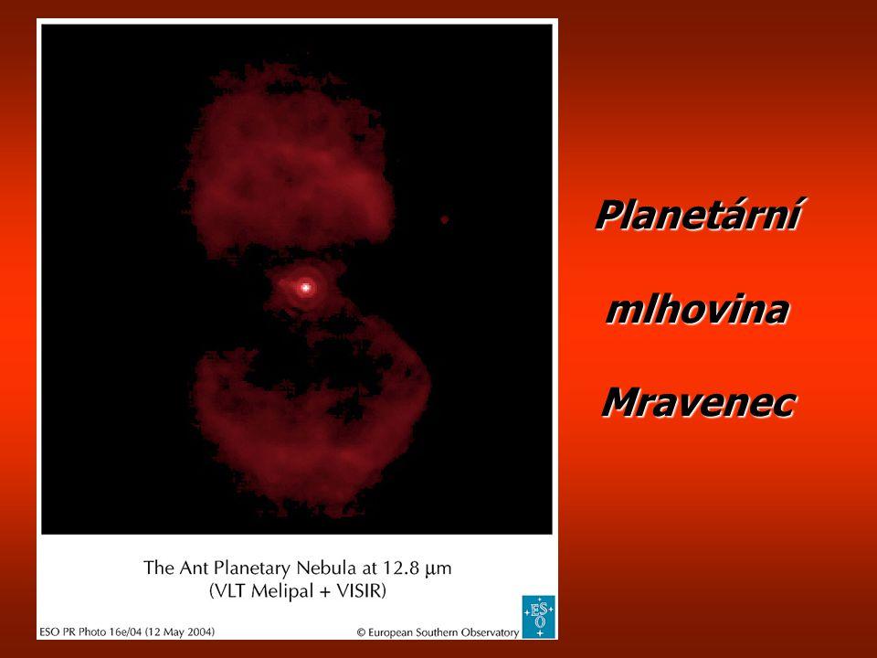 Planetární mlhovina Mravenec